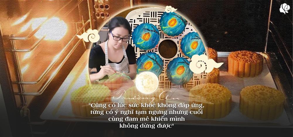 Bỏ việc ở nhà làm bánh, tạo ra bánh Trung thu vẽ tay, 8X Sài Gòn kiếm 60 triệu/tháng-1