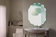 Chớ dại lắp gương phòng tắm ở nơi này kẻo khiến gia chủ hoảng sợ, nhất là vào ban đêm