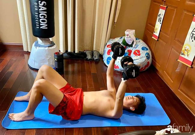 Con trai diễn viên Hiền Mai: Hồi nhỏ ốm nhom vì suy dinh dưỡng, mẹ cho ăn cơm vàng giờ 16 tuổi cao 1m80-7