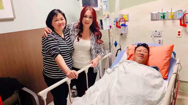 Nhập viện mổ nghẽn mạch máu, nhạc sĩ Lê Quang phải phẫu thuật cắt chân phải do nhiễm trùng-2