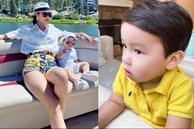Quý tử kháu khỉnh chưa đầy 2 tuổi của HH Phạm Hương trước khi ngủ vẫn 'bắn' tiếng Anh, nhìn qua đã biết mẹ dạy con khéo thế nào!