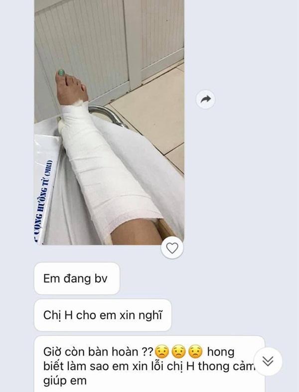 Nghe nhân viên kể khổ bị tai nạn gãy chân, cô gái có màn bóc mẽ nhẹ nhàng chỉ nhờ 1 tấm ảnh lại khiến ai nấy cười lăn lộn-1