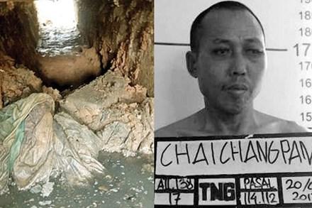 Hành trình 8 tháng đào hầm vượt ngục táo tợn như phim của tử tù ma túy