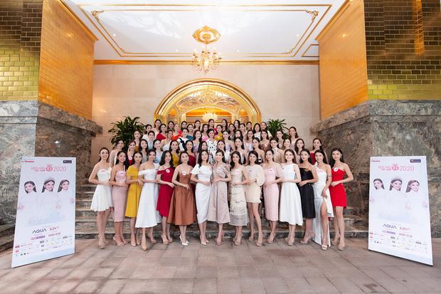 Top 60 Hoa hậu Việt Nam 2020 lần đầu hội ngộ đông đủ, đọ sắc cực gắt cùng khung hình: Nhìn là hiểu đấu trường visual năm nay đáng gờm thế nào!-1