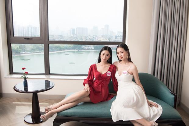Top 60 Hoa hậu Việt Nam 2020 lần đầu hội ngộ đông đủ, đọ sắc cực gắt cùng khung hình: Nhìn là hiểu đấu trường visual năm nay đáng gờm thế nào!-6