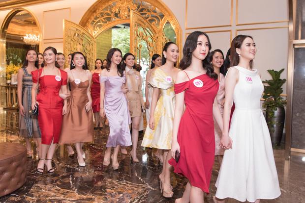 Top 60 Hoa hậu Việt Nam 2020 lần đầu hội ngộ đông đủ, đọ sắc cực gắt cùng khung hình: Nhìn là hiểu đấu trường visual năm nay đáng gờm thế nào!-2