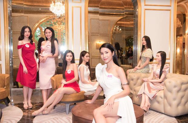 Top 60 Hoa hậu Việt Nam 2020 lần đầu hội ngộ đông đủ, đọ sắc cực gắt cùng khung hình: Nhìn là hiểu đấu trường visual năm nay đáng gờm thế nào!-4