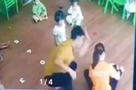 Công an Lào Cai truy tìm người đàn ông đánh bé gái 2 tuổi trong trường mầm non