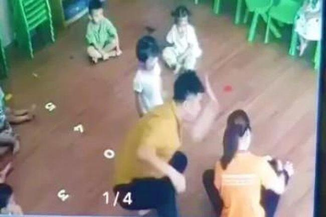 Công an Lào Cai truy tìm người đàn ông đánh bé gái 2 tuổi trong trường mầm non-1