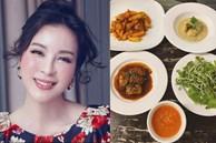 'Mỹ nhân không tuổi' của điện ảnh Việtkhoe bữa ăn hội tụ ẩm thực của 4 quốc gia, ai cũng khen đã xinh đẹp lại còn quá đa tài!