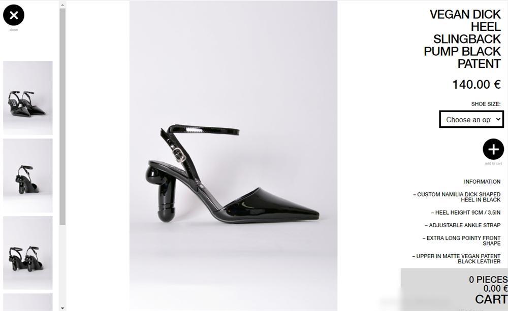 Ngọc Trinh chết mê đôi giày cao gót có hình bộ phận sinh dục nam-4