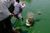Người mẹ bất hạnh sinh 15 đứa con đều lần lượt bị ném cho cá sấu ăn thịt với lý do khó tin