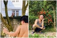 Rò rỉ nhà vườn của Xuân Hinh qua bức ảnh 'chụp trộm' từ đồng nghiệp