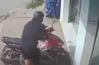Tên trộm bỏ chạy khi bị phát hiện