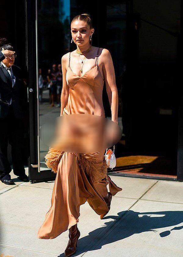 Diện váy lụa kín đáo là thế, nhưng Thanh Hằng lại lộ ngay khoảnh khắc nhạy cảm mà bản thân không hề hay biết-8