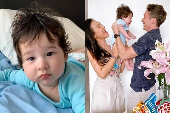 Hoàng Oanh khoe cận mặt con trai lai Tây, đúng là cực phẩm nhan sắc thừa hưởng từ bố mẹ-4