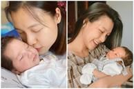 Hoàng Oanh khoe cận mặt con trai lai Tây, đúng là cực phẩm nhan sắc thừa hưởng từ bố mẹ