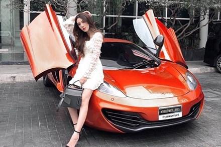 Tiểu thư nhà giàu cả nước biết tiếng, đổi ô tô như thay áo hút chú ý của dân mạng