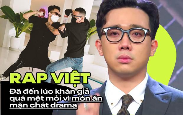 Những giọt nước mắt của Trấn Thành bị chỉ trích: Khán giả quá mệt mỏi vì drama và sướt mướt của Rap Việt?-1