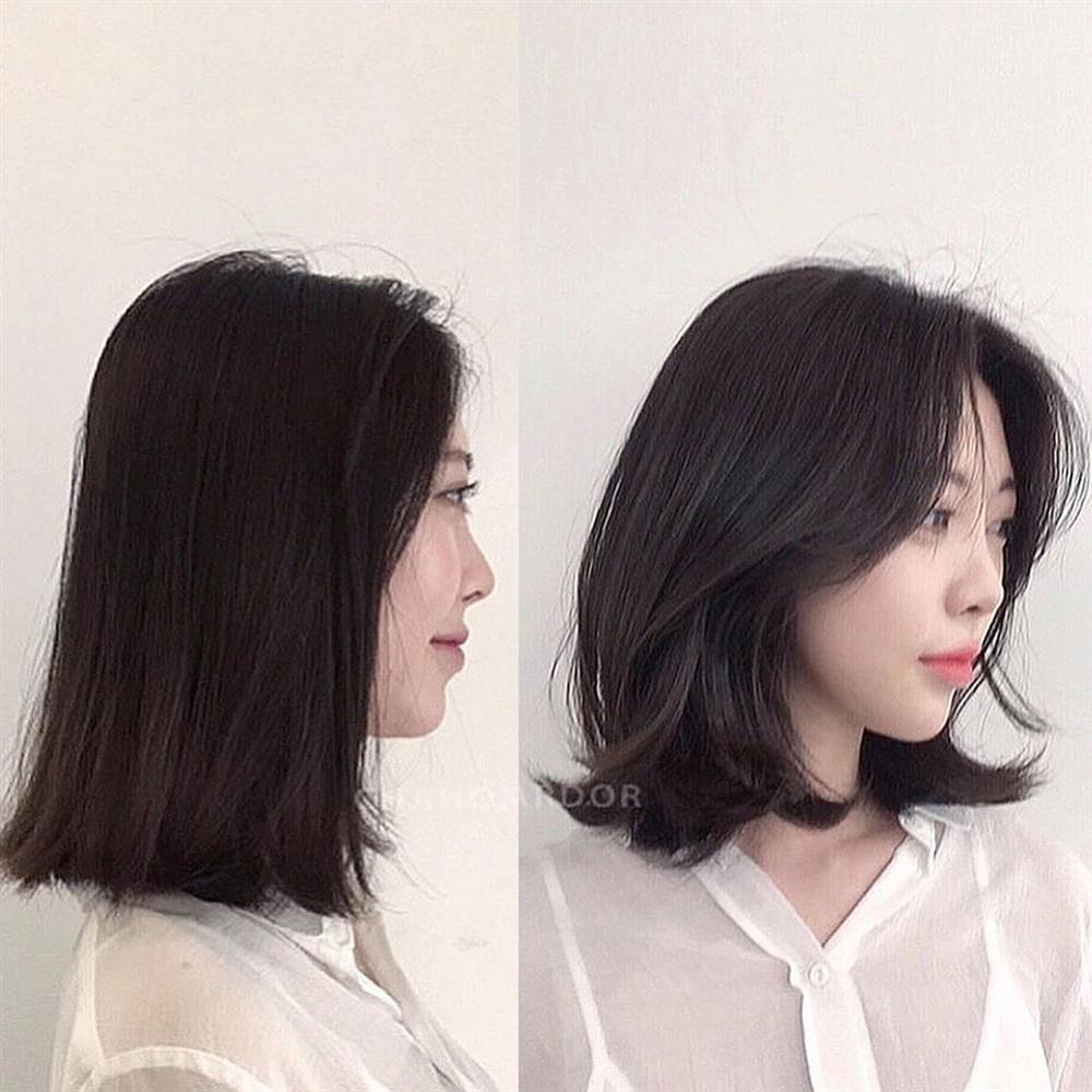 5 kiểu tóc chân ái cho nàng mặt tròn, khiến nhan sắc thanh tú như mới đi tiêm cằm Vline-3