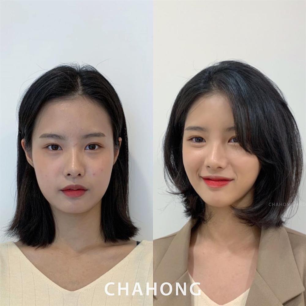 5 kiểu tóc chân ái cho nàng mặt tròn, khiến nhan sắc thanh tú như mới đi tiêm cằm Vline-4