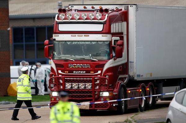 Thảm kịch Essex - nạn nhân ở trong container 38,5 độ C suốt 12 tiếng-1