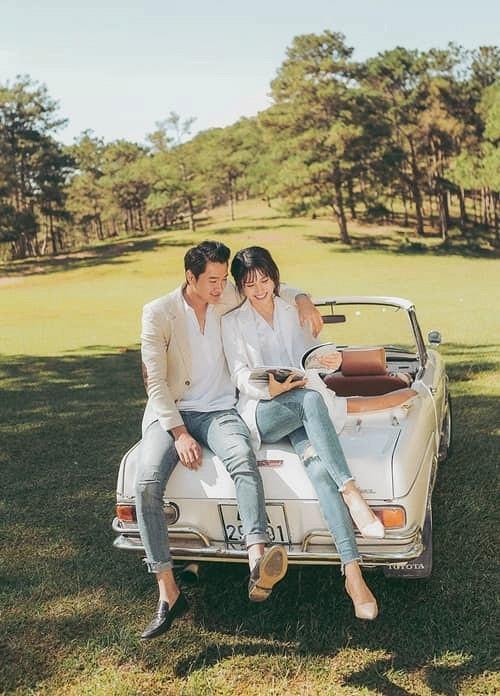 Bộ ảnh cưới nóng bỏng của diễn viên Thảo Trang và chồng trẻ kém 9 tuổi-3
