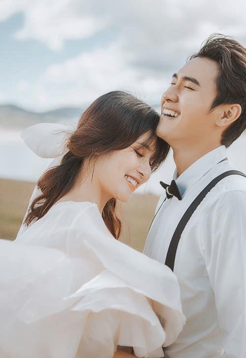 Bộ ảnh cưới nóng bỏng của diễn viên Thảo Trang và chồng trẻ kém 9 tuổi-6