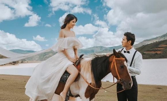 Bộ ảnh cưới nóng bỏng của diễn viên Thảo Trang và chồng trẻ kém 9 tuổi-8