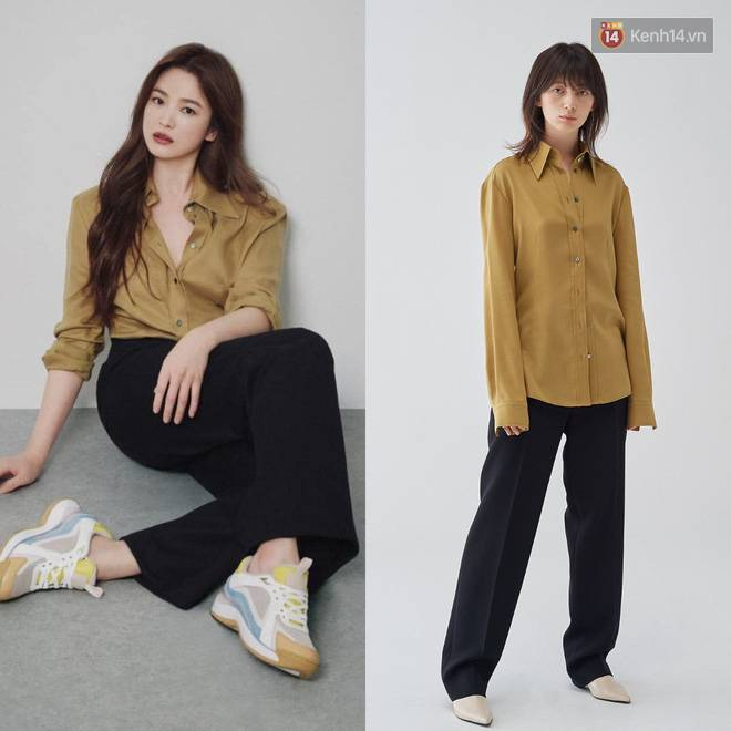 """Sau bao lần bị chê mặc sến, Song Hye Kyo giờ lên đời"""" diện đồ sang xịn hơn người mẫu-3"""