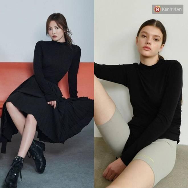"""Sau bao lần bị chê mặc sến, Song Hye Kyo giờ lên đời"""" diện đồ sang xịn hơn người mẫu-4"""