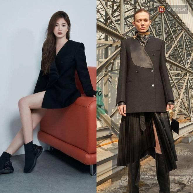 """Sau bao lần bị chê mặc sến, Song Hye Kyo giờ lên đời"""" diện đồ sang xịn hơn người mẫu-6"""