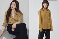 """Sau bao lần bị chê mặc sến, Song Hye Kyo giờ """"lên đời"""" diện đồ sang xịn hơn người mẫu"""