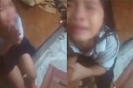 Con gái đi ăn cháo cùng mẹ về bị bố đánh, dọa xích chân mặc kệ van xin