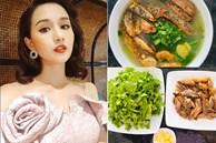 Trời mát mẻ, Lã Thanh Huyền nấu bánh đa cá rô nhìn thôi đã ngon mắt, Việt Anh xuýt xoa: 'Cần lắm bữa ăn thế này!'