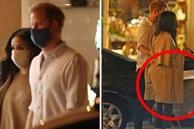 Nhà Sussex bị phát hiện bí mật đi ăn tối nhưng bộ trang phục lôi thôi của Meghan Markle mới là tâm điểm chú ý