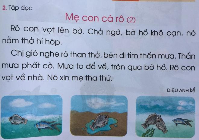 Phụ huynh than nhiều truyện trong Tiếng Việt 1 không rõ tính giáo dục-2