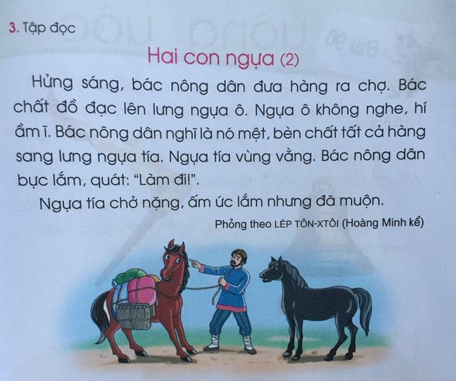 Phụ huynh than nhiều truyện trong Tiếng Việt 1 không rõ tính giáo dục-3