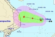 Áp thấp nhiệt đới hình thành, miền Trung tiếp tục mưa lớn