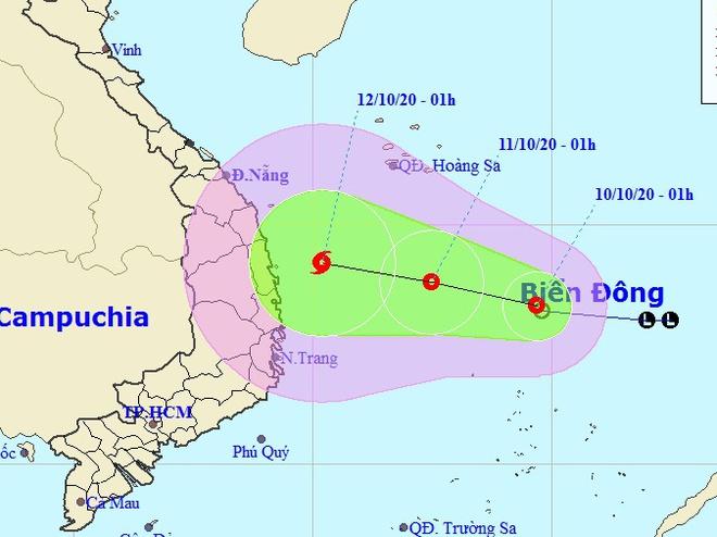 Áp thấp nhiệt đới hình thành, miền Trung tiếp tục mưa lớn-1
