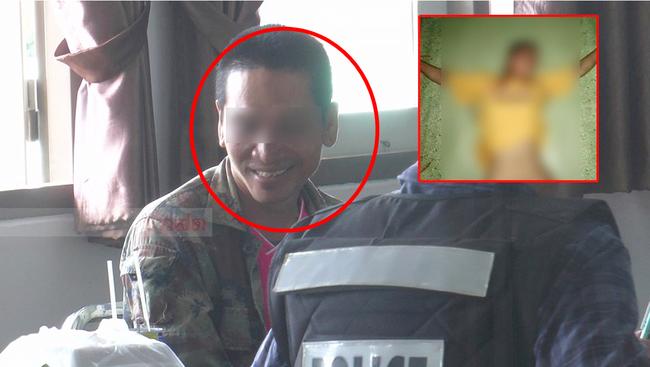 Vụ thiếu nữ 18 tuổi bị bạn trai cũ bắt cóc và xích trói trong tình trạng bán khỏa thân: Kẻ điên tình lộ diện với nụ cười đáng sợ-3
