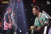 """Rap Việt: Dế Choắt tiến thẳng chung kết, nhưng xuất sắc không kém là màn """"diss nhẹ' của 16 Typh với Binz"""