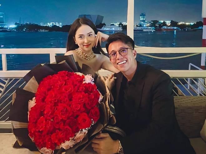 Matt Liu vừa ra mắt họ nhà gái, Hương Giang đã sắm ngay đôi giày cưới cổ tích gần 100 triệu, Vbiz chuẩn bị có thêm tin mừng?-3