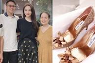 Matt Liu vừa ra mắt 'họ nhà gái', Hương Giang đã sắm ngay đôi giày cưới cổ tích gần 100 triệu, Vbiz chuẩn bị có thêm tin mừng?