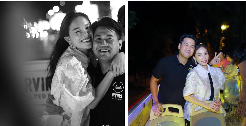 Linh Rin và Phillip Nguyễn cứ ôm nhau bất chấp trong hình chụp đôi hay ảnh gia đình, lấn lướt cả vợ chồng Hà Tăng-4