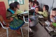 Xót xa hoàn cảnh bé gái 7 tuổi ở Yên Bái có bố đi tù, mẹ nghiện ngập, ngày ngày cõng em trai 20 tháng tuổi lên lớp học để có cơm ăn