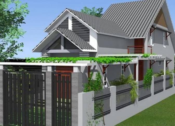 Mẫu nhà mái thái 1 tầng hứa hẹn lên ngôi cuối năm 2020-5