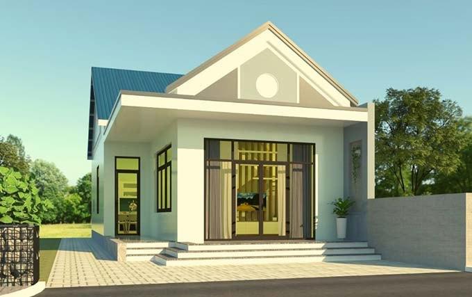 Mẫu nhà mái thái 1 tầng hứa hẹn lên ngôi cuối năm 2020-8