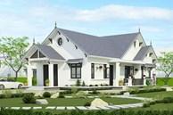 Mẫu nhà mái thái 1 tầng hứa hẹn lên ngôi cuối năm 2020