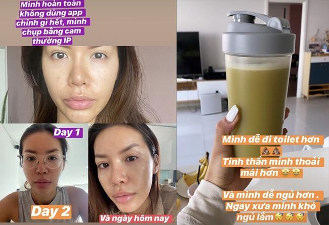 Học lỏm cách làm đồ uống thanh lọc cơ thể của các chị đẹp trong showbiz Việt-3
